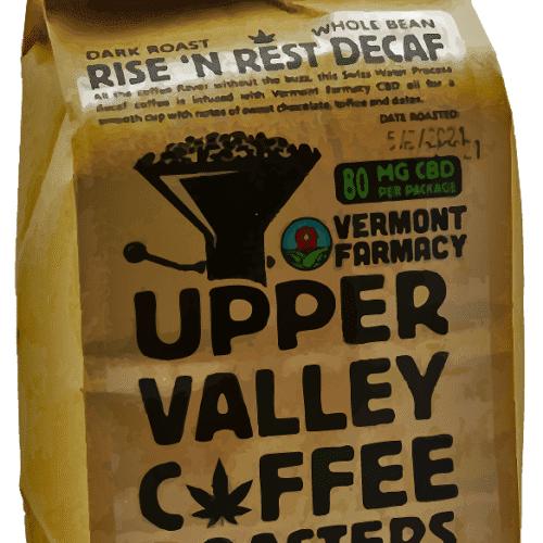cbd coffee decaf brazilian swiss water infused